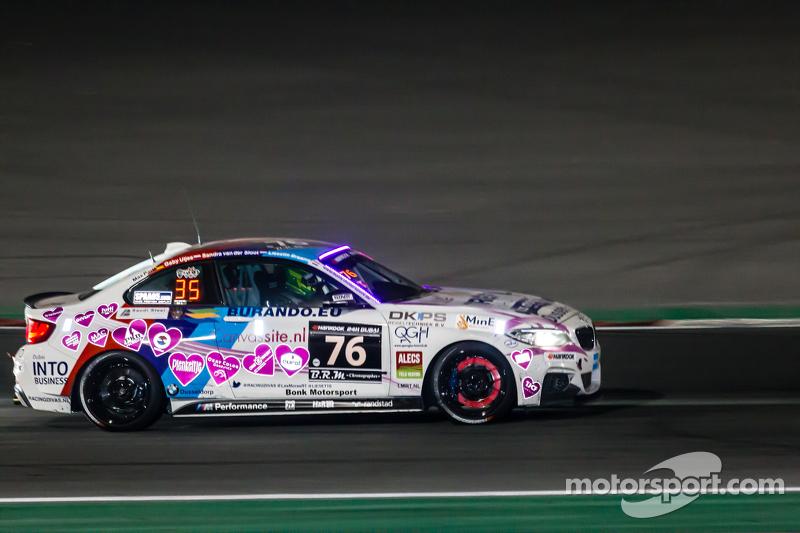 #76 Racingdivas by Las Moras,宝马M235i赛车杯: Liesette Braams, Sandra van der Sloot, Gaby Uljee, Max Partl