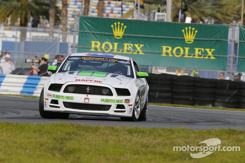 #00 Zero Zero Motorsport, Mustang Boss 302R: Roly Falgueras, Bryan Ortiz
