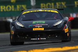#12 Ft. Lauderdale法拉利赛事中的法拉利 458: Dan O'Neal