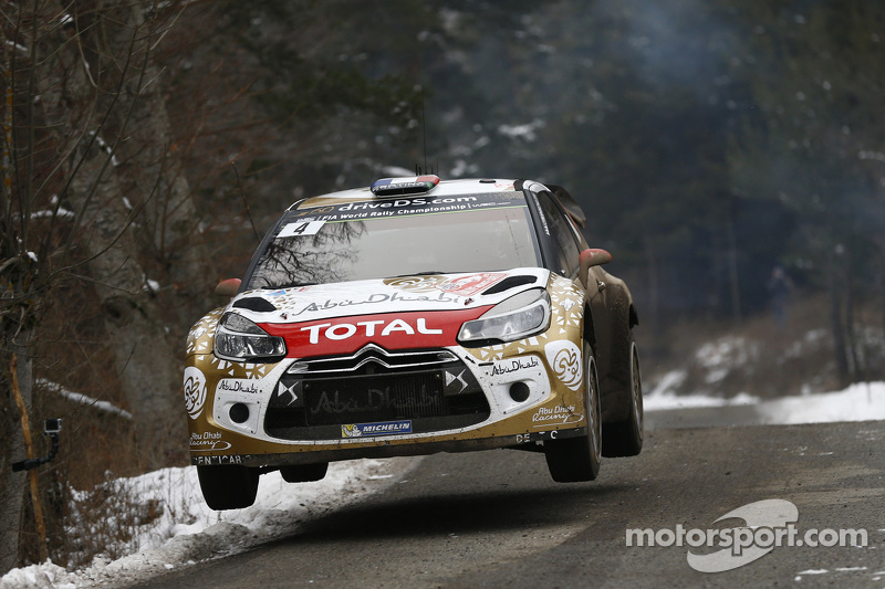 Sébastien Loeb und Daniel Elena, Citroën DS3 WRC, Citroën Total Abu Dhabi World Rally Team