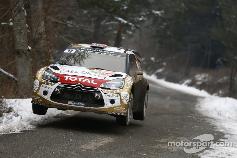 Медс Остберг та Йонас Ендерсон, Citroën DS3 WRC, Citroën Total Abu Dhabi World Rally Team
