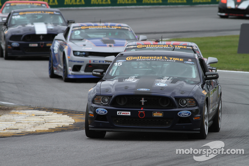 #15 Multimatic Motorsports, Mustang Boss 302R: Billy Johnson, Scott Maxwell