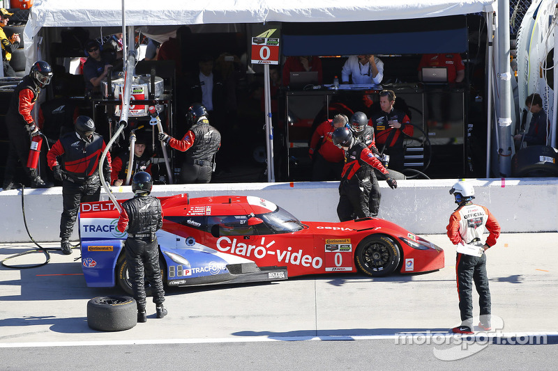 #0 DeltaWing Racing Cars, DWC13: Katherine Legge, Memo Rojas, Gabby Chaves, Andy Meyrick sowie #5 Ac