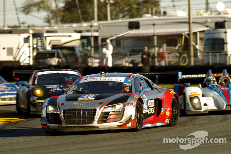 #48 Paul Miller Racing Audi R8 LMS: Крістофер Гаазе, Bryce Miller, Рене Раст, Dion von Moltke