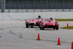 Testa Rossas battle on track