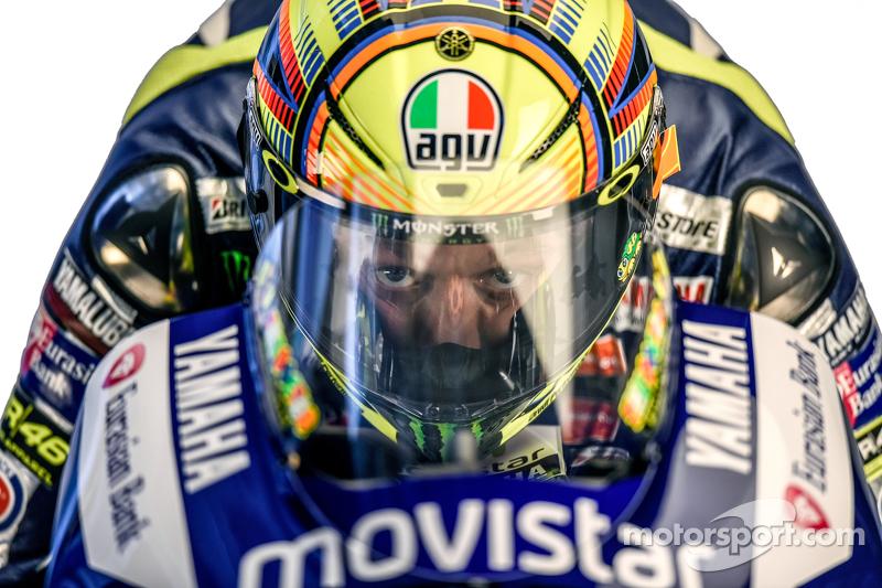 La sesión de fotos de Rossi