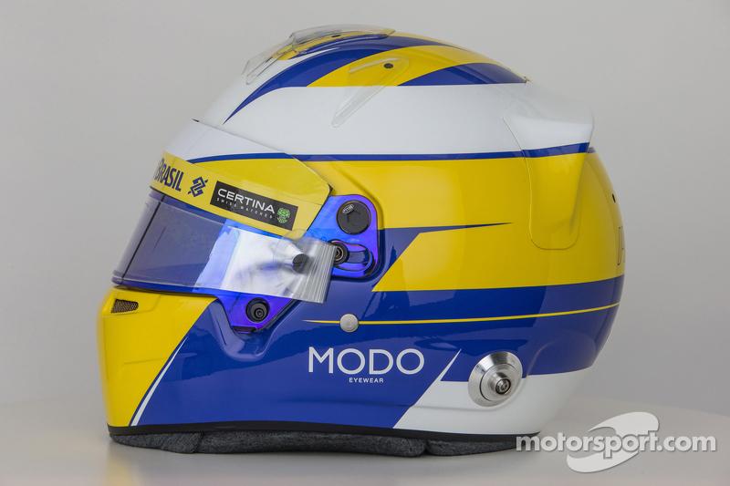 Der Helm von Marcus Ericsson, Sauber F1 Team