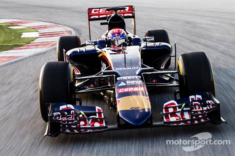 Max Verstappen Toro Rosso STR10 koltuğunda