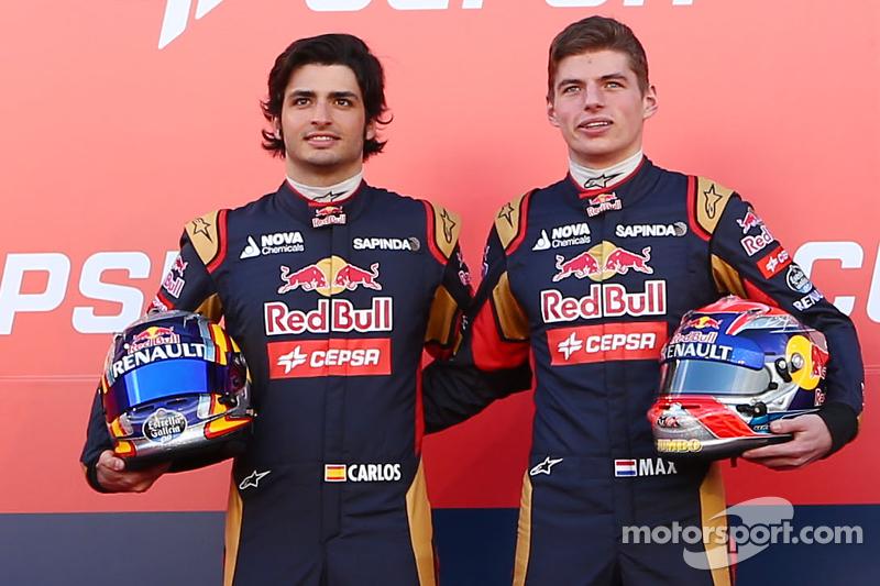 Макс Ферстаппен та Карлос Сайнс мол. та Toro Rosso STR10
