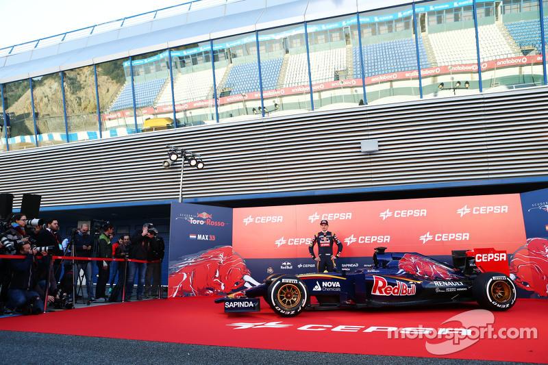 Макс Ферстаппен, Scuderia Toro Rosso разом з new Scuderia Toro Rosso STR10
