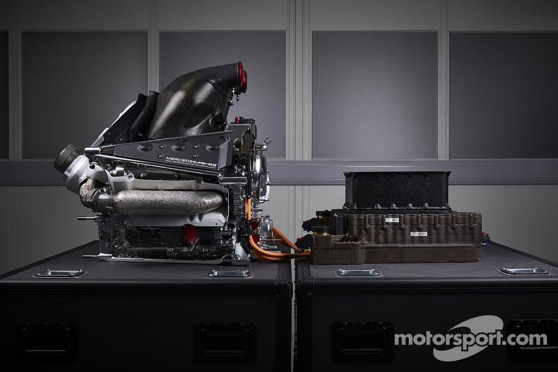 Der Antriebsstrang des Mercedes AMG F1 W06
