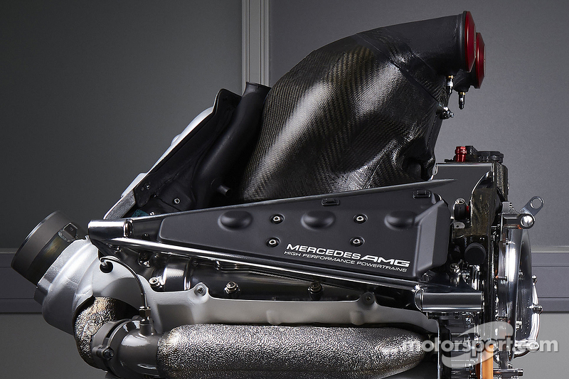 details of the power unit of the mercedes amg f1 w06 at. Black Bedroom Furniture Sets. Home Design Ideas