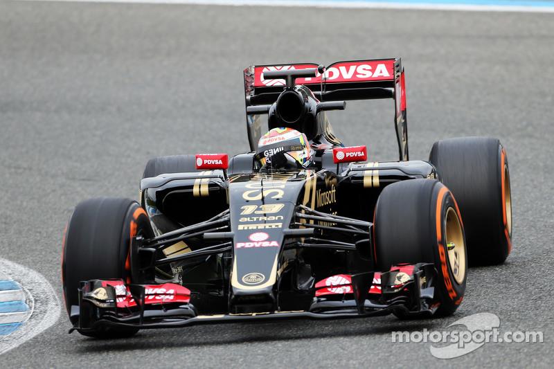 Pastor Maldonado, Lotus F1 E23 (2015)