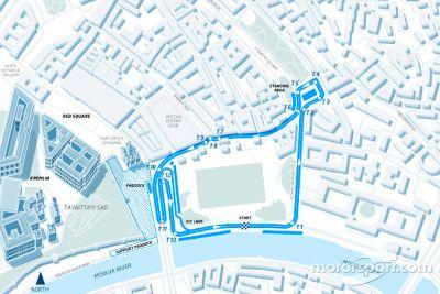 Formula E Moscow race announcement