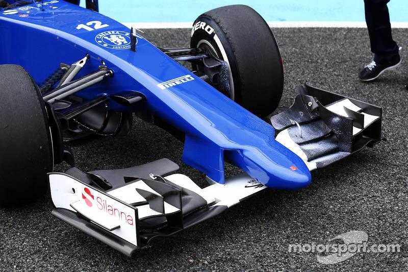 Sauber C34 front wing