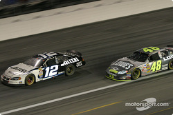 Ryan Newman and Jimmie Johnson