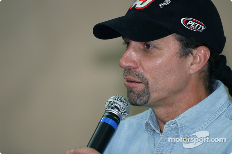 STP Corporation press conference: Kyle Petty