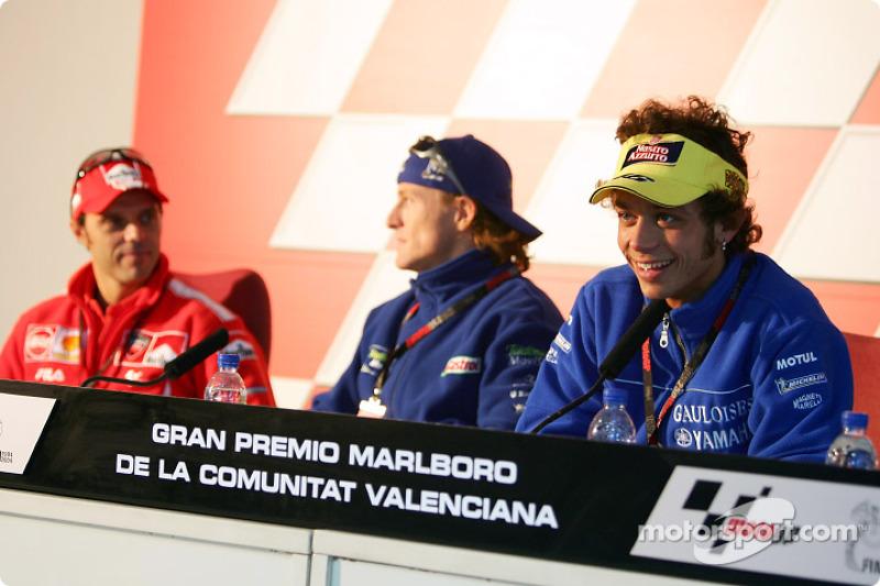 Conferencia de prensa de Valentino Rossi