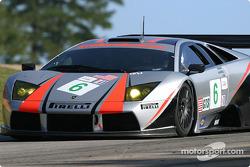 La Lamborghini Murcielago R-GT n°6 Krohn-Barbour Racing : Tracy Krohn, Scott Maxwell, Joe Fox