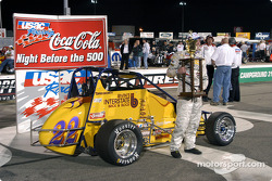 Ron Gregory in victory lane
