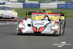 L'audi R8 n°5 d'Audi Sport Japan Team Goh (Seiji Ara, Rinaldo Capello)