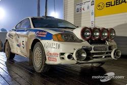 #5 - Antoine L'Estage and Yanick Napert, Hyundai Tiburon, Open