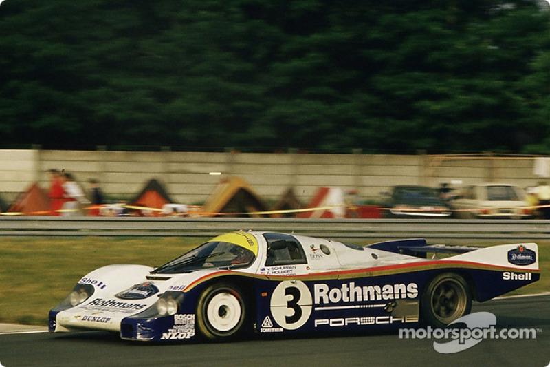 #3 Rothmans Porsche 956: Vern Schuppan, Al Holbert, Hurley Haywood