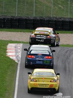 #29 Bill Fenton Motorsports Acura Acura RSX - S: Mike Liebl, Bill Fenton, Bob Endicott, #65 SpeedSource Mazda RX-8: Shawna Marinus, Paul Mears Jr.