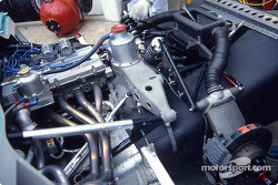 Engine of the #36 Tom's 86C Toyota