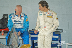 Paul Tracy and Anthony Lazzaro