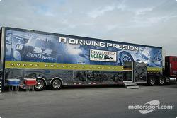 Grand American Rolex Sports Car Series transporter