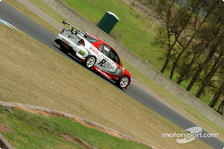 Paul Dumbrell in the third Perkins Castrol Commodore