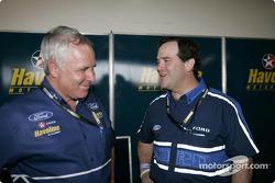 Ross Stone with Ford Australia President Tom Gorman