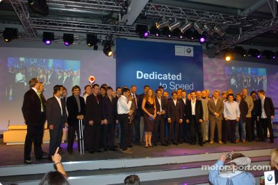 BMW Motorsport prize giving party, Zell am See Austria