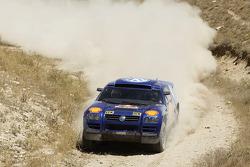 Volkswagen test in Turkey: Juha Kankkunen and Juha Repo