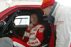 Nissan Rally Raid Team shakedown: Colin McRae