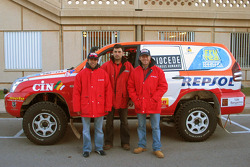 Toyota Challenge team driver Manuel Marques Paulo and co-driver Benedi Rui Rodrigues