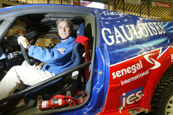 Thierry De Lavergne with the Senegal Racing Team Renault Megane