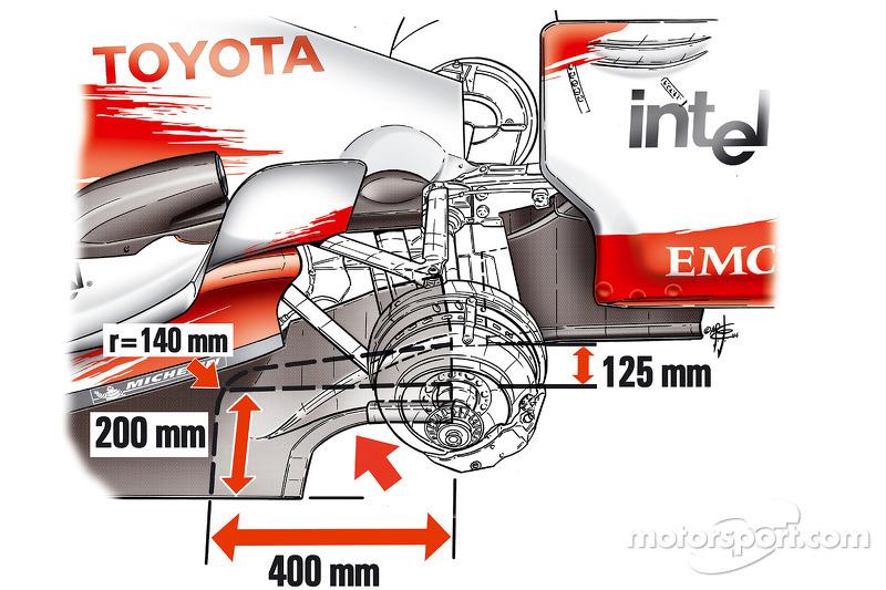 Restrictions, rear, otomobil shown, TF104B