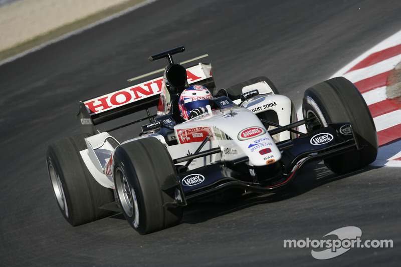 Jenson Button test ediyoryeni BAR Honda 007