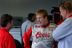 Sterling Marlin with crew