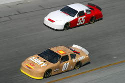 Joe Nemechek and Derrike Cope