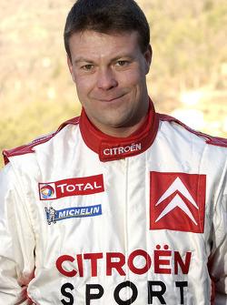 Citroën Sport presentation: co-driver Stéphane Prévot