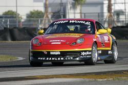 #42 Team Sahlen Porsche 996: Will Nonnamaker, Joe Sahlen, Joe Nonnamaker