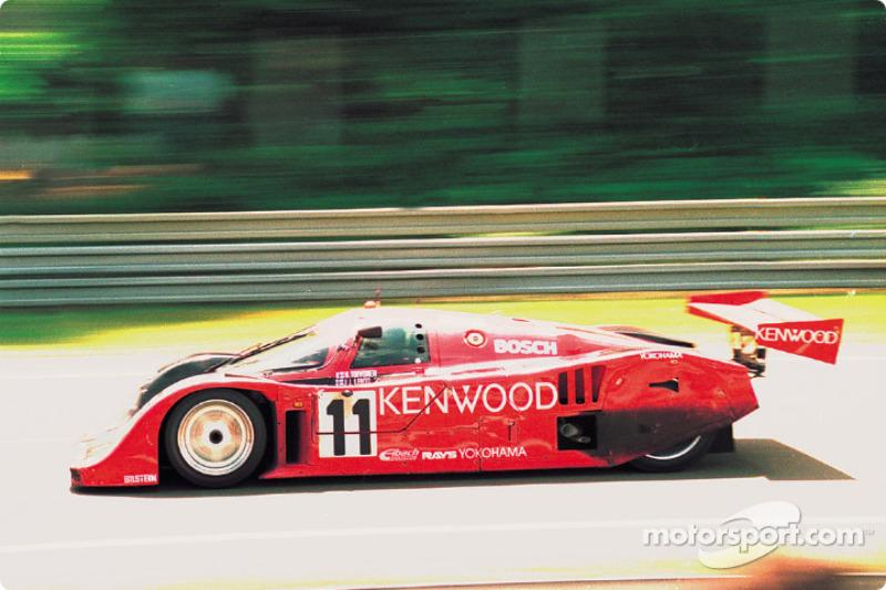 #11 Kremer Racing Porsche 962CK6: Manuel Reuter, Harri Toivonen, JJ Lehto