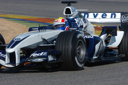 Mark Webber tests the new Williams BMW FW27