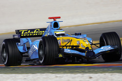 Giancarlo Fisichella the new Renault R25