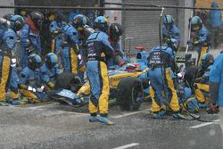Pitstop Fernando Alonso