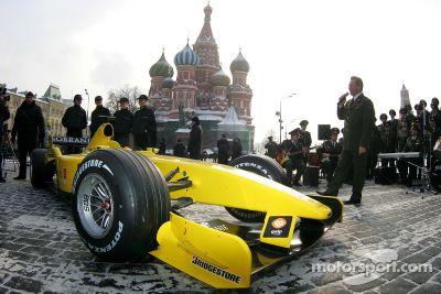 إطلاق ميدلاند-جوردان، موسكو، روسيا