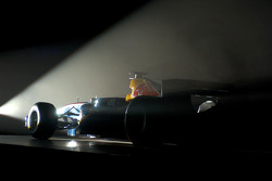 Red Bull Racing launch party: the Red Bull RB1 car waits to be unveiled